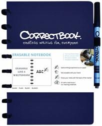 CORRECTBOOK A5 GELINIEERD BLAUW -SCHOOL ARTIKELEN 26