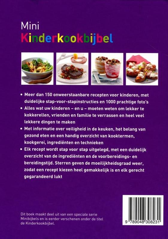 Mini Keuken Kinder : Mini Kinderkookbijbel -Heerlijke recepten voor koken met kinderen van