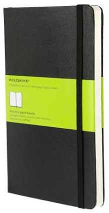 Moleskine Large Plain Notebook -Nmqp062 IMQP062 Black