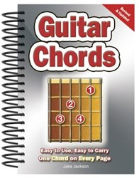 Guitar Chords -Easy-To-Use, Easy-To-Carry, On e Chord on Every Page Jackson, Jake