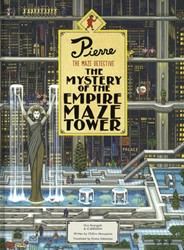 Pierre The Maze Detective: The Mystery o -The Mystery of the Empire Maze Tower Maruyama, Chihiro