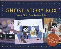 Ghost Story Box: Create Your Own Spooky -Create Your Own Spooky Tales: 20 Story-telling Puzzle Pieces