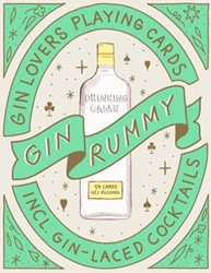Gin Rummy -Gin Lovers Playing Cards Stokes, Emma