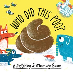 Who Did This Poo? -A Matching & Memory Game Boldt, Claudia