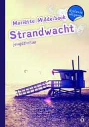Strandwacht - Dyslexie uitgave -dyslexie uitgave Middelbeek, Mariette