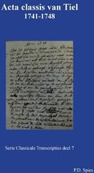 Acta classis van Tiel 1731-1748 Spies, P.D.