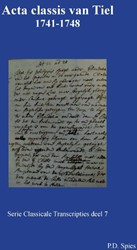 Serie Classicale Transcripties Acta clas Spies, P.D.