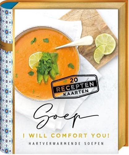 Mini bookbox recepten Soep -I will comfort you Vet, Remke