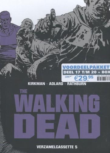 The Walking Dead SC cassette 5 -inclusief softcover 17 t/m 20 Kirkman, Robert