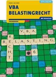 VBA Belastingrecht met resultaat 18/19 T Jacobs, C.J.M.