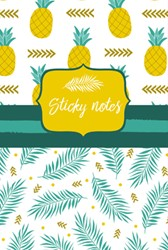 Sticky notes pack Ananas