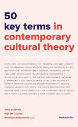 50 key terms in contemporary cultural th Bloois, Joost de