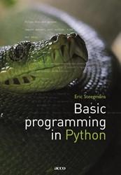 Basic Programming in Python Steegmans, Eric