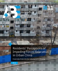 Residents' Perceptions of Impending -A case study of state-led urba n redevelopment in Shenyang Li, Xin