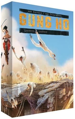 Gung Ho Limited Edition Box-set -inclusief boek 1,2,3 + dossier s + prenten Kummant, Thomy von