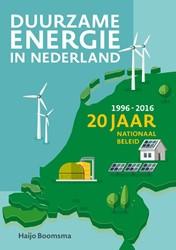 Duurzame energie in Nederland -20 jaar nationaal beleid (1996 -2016) Boomsma, Haijo