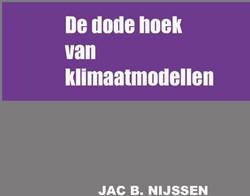 De dode hoek van klimaatmodellen Nijssen, Jac B.