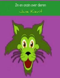 Zin en onzin over dieren Kievit, Jane