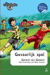 De voetbalgoden 2 - Gevaarlijk spel - dy -dyslexie uitgave Gemert, Gerard van