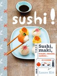 Sushi -temaki, chiraski, sashimi Kie, Laure