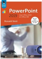 Handboek Powerpoint 2019 Smit, Ronald