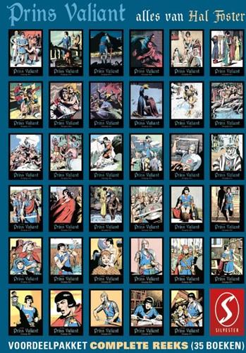 Prins Valiant: Complete reeks voordeelpa Foster, Hal