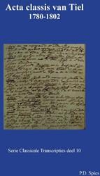 Acta classis van Tiel 1780-1802 Spies, P.D.