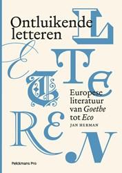 Ontluikende letteren 2 (hardcover) Herman, Jan