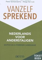 Vanzelfsprekend. Nederlands voor anderst -Tekstboek Engels Devos, Rita