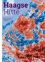 Haagse Hitte -het Haagse warmte-eiland in ka art gebracht Hoeven, Frank van der