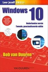 Leer jezelf SNEL... Windows 10, 2e editi Duuren, Bob van