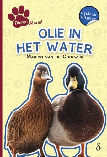 Olie in het water -dyslexie uitgave Coolwijk, Marion van de