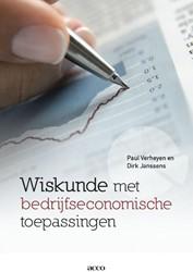 Wiskunde met bedrijfseconomische toepass Verheyen, Paul