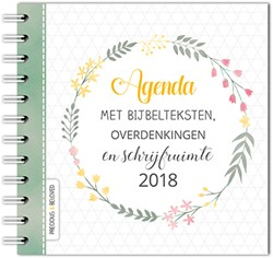 Agenda 2018 met bijbelteksten, overdenki -precious & beloved Ooijen, Cindy van