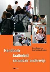 Handboek taalbeleid secundair onderwijs Bogaert, Nora