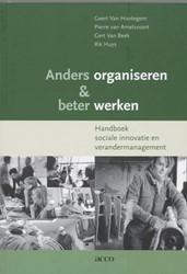 Anders organiseren & beter werken -handboek sociale innovatie en verandermanagement Hootegem, Geert Van