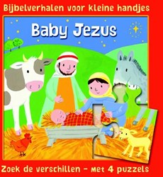 Baby Jezus -bijbelverhalen voor kleine han djes Rock, Lois