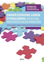 Onderzoekend leren stimuleren: effecten, -effecten, maatregelen en princ ipes Donche, Vincent