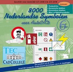 8000 Nederlandse Symbolen voor AutoCAD Boeklagen, Ronald