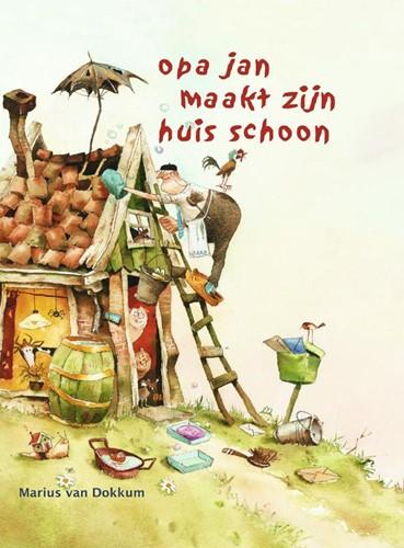 Opa Jan maakt zijn huis schoon Dokkum, Marius van