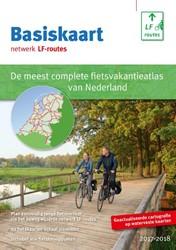 Basiskaart netwerk LF-routes -de meest complete fietsatlas v an Nederland Hoogsteen, L.
