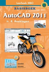 AutoCAD 2011, Basisboek -leerboek MBO Boeklagen, R.