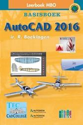 AutoCAD 2016 -basisboek Boeklagen, Ronald