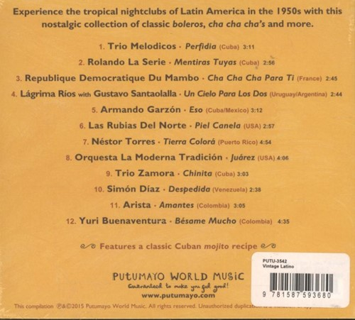 Putumayo presents: Vintage Latino-2
