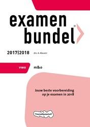 Examenbundel vwo management & organi Maurer, A.