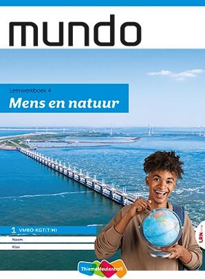 Mundo LRN-line online + boek 1 vmbo-kgt -mens en natuur