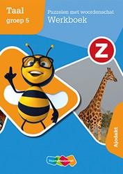 Z-taal -Puzzelen met woordenschat Werk boek groep 5 Ajodakt Nagtegaal, P.