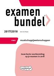 Examenbundel vwo Maatschappijwetenschapp -jouw beste voorbereiding op je examen in 2018 Poeze, E.A.