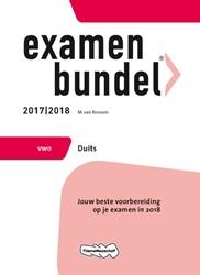 Examenbundel vwo Duits 2017/2018 -jouw beste voorbereiding op je examen in 2018 Rossum, M. van