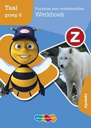 Z-taal Puzzelen met woordenschat Werkboe -ajodakt